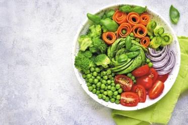 vegan lunch bowl