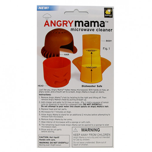 angry mama microwave cleaner as seen on