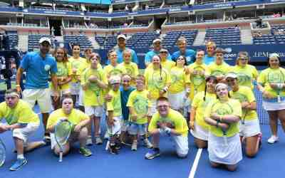 Buddy Up Tennis at the 2018 US Open-NBC News