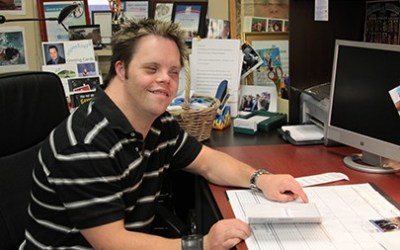 Akron Special Olympian, Advocate and Business Owner Todd Eisinger Honored With Prestigious Award