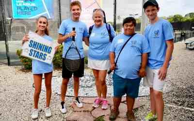 Student Coaches with Buddy Up Tennis Sarasota