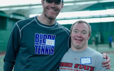 #1 Adaptive Tennis Program, #1 Volunteer Leader: Rob Griffiths