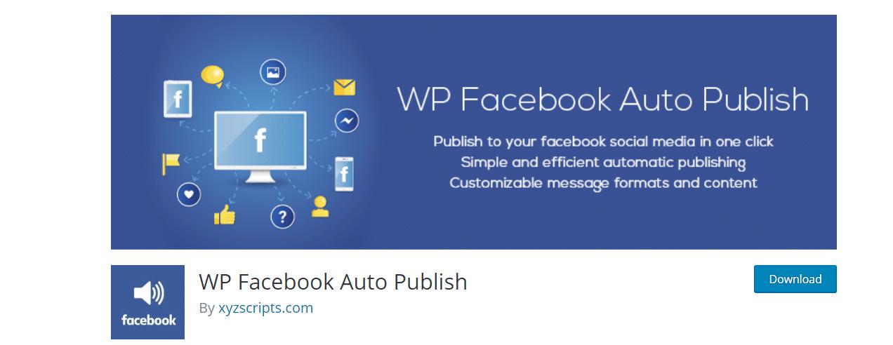 WordPress Facebook integration