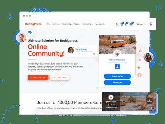 Reign BuddyPressTheme