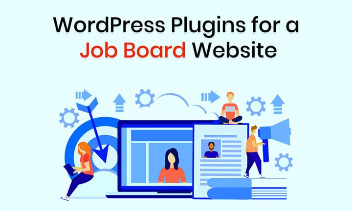 Wordpress plugins for a Job Board Website