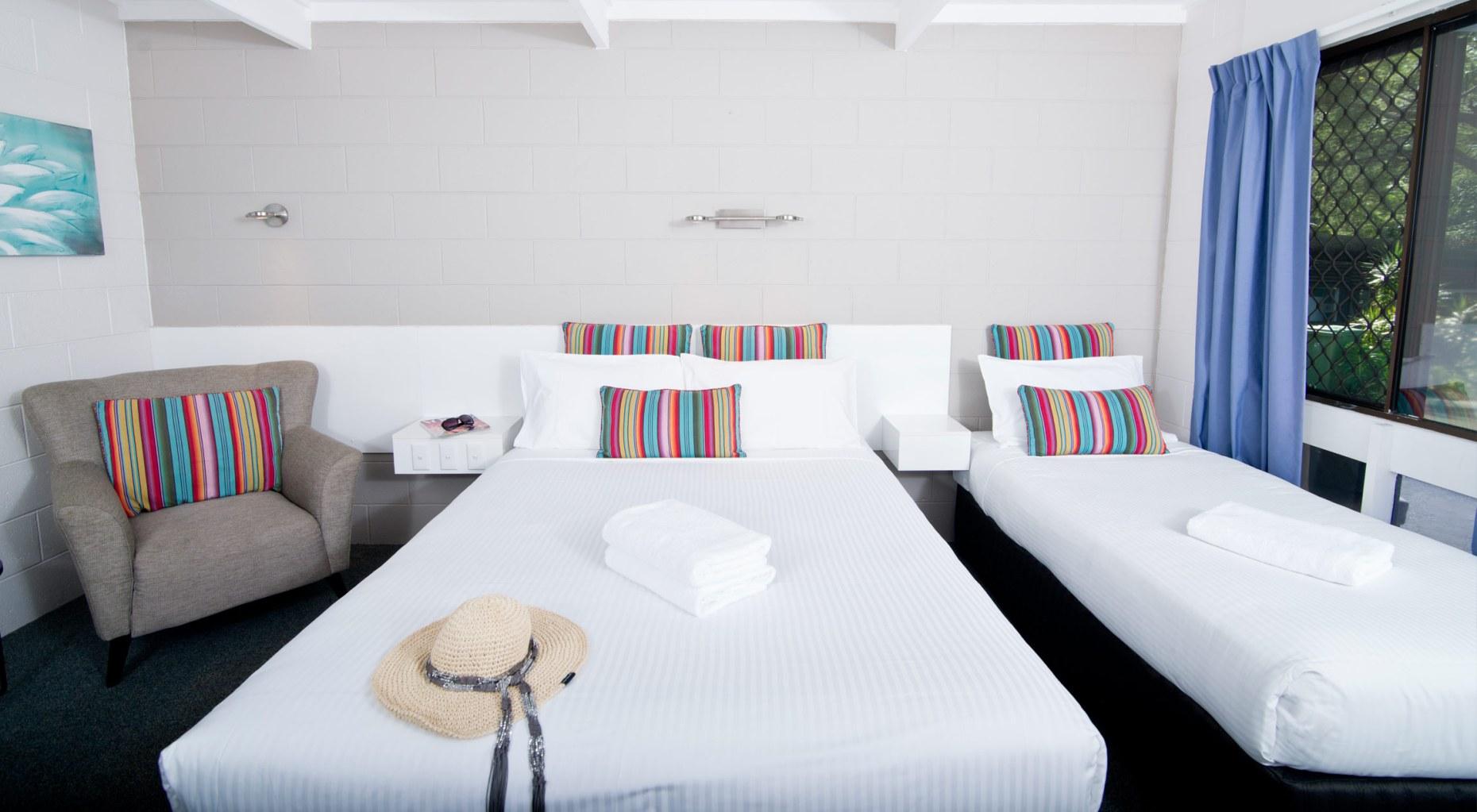 Buderim Fiesta motel treble room