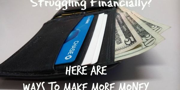 Struggling with Finances? Here's How to Earn Cash #sponsored
