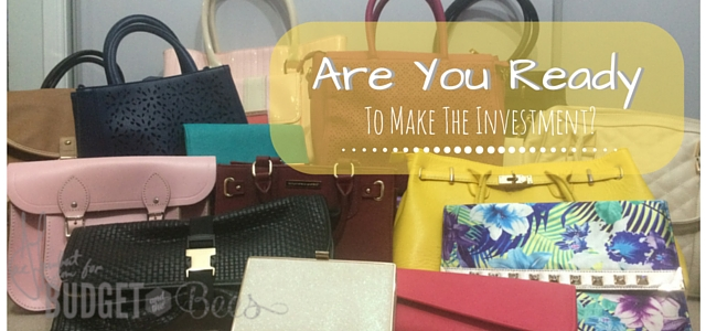 Are You Ready to Make the Investment? #sponsored