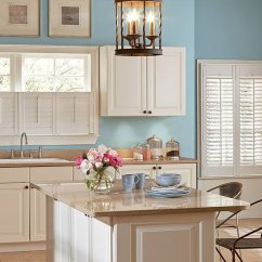 Kitchen Window Shutters Complete Cabinets Cafe Style Above Sink