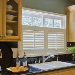 Kitchen Window Shutters Backsplash Stick On Tiles Cafe Style Shutter Neutral