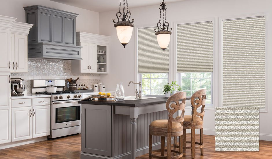 kitchen shades eurostyle cabinets custom window treatments for kitchens budget blinds patterned pleated inset