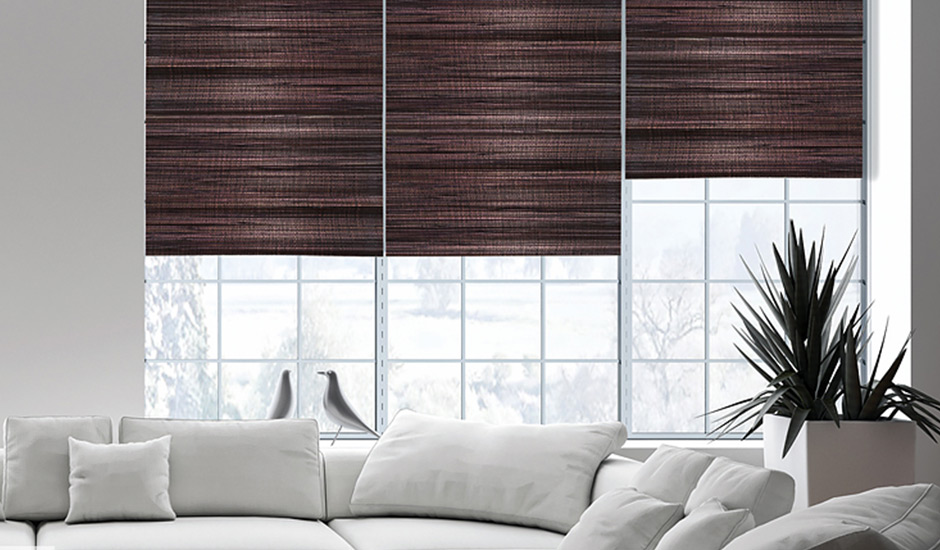 window blinds for living room simple rooms custom treatments budget inspired shades woven wood