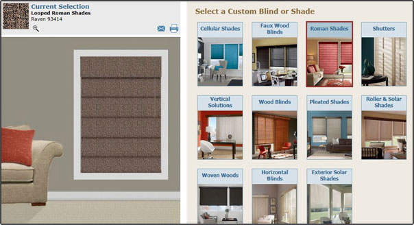 The Signature Series® Virtual Decorator  Budget Blinds