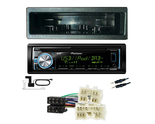 Mazda 3 Cd Car Stereo Fitting Kit Fascia Wiring Loom Ebay