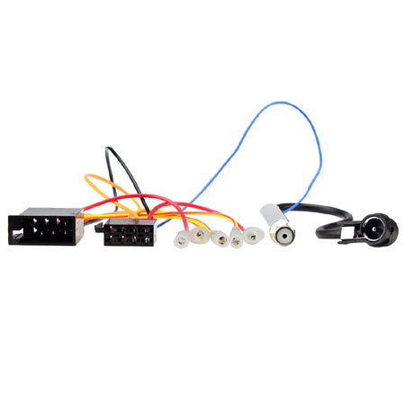 CT20VW06 Car 8 Way ISO Wiring Harness Lead for Audi, Seat