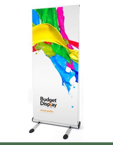 Roll Up Banner Png : banner, Buitenbanners, BudgetDisplay, Bestellen, Signs, Prints