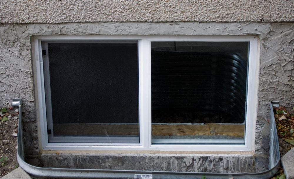 How To Replace Metal Basement Windows In Concrete