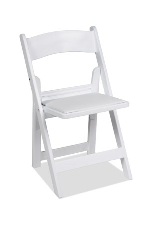 table and chair hire outdoor comfy gladiator chairs budget event white folding wedding