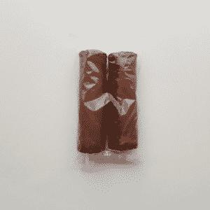Handvatten lederlook bruin