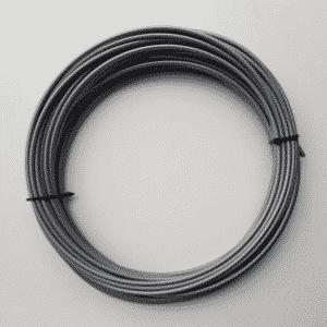 Rol buitenkabel remkabel 25 meter grijs