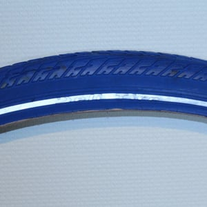 Blauwe fiets band