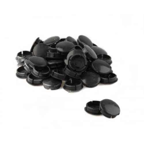 Zak crank doppen per 50 stuks Zwart