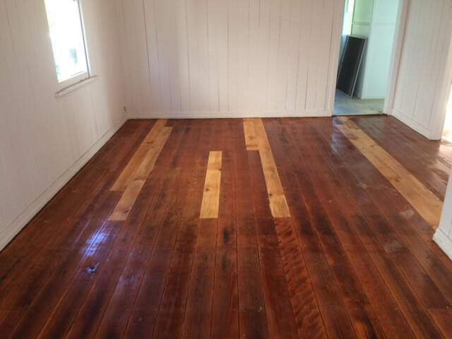Timber Flooring Repair at East Brisbane House  article of