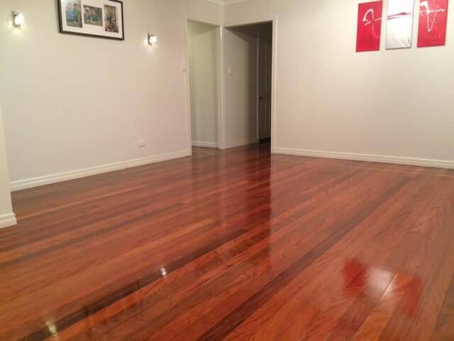 Floor Sanding  Polishing of Brushbox Timber Floors