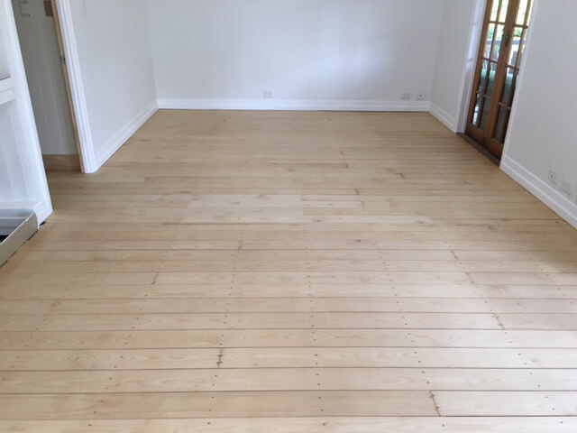 Floor Sanding with Invisible Protect Timber Floor Finish