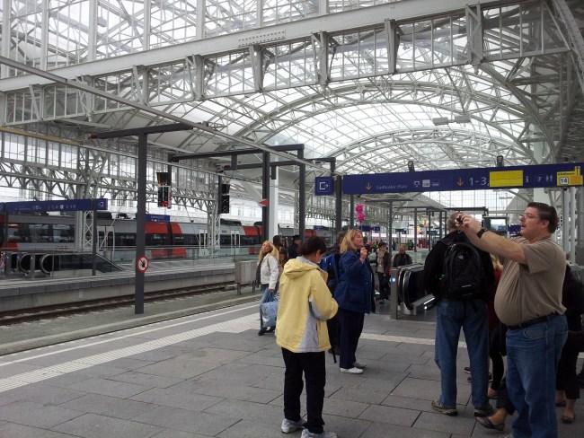 MUNICH RAIL STATION