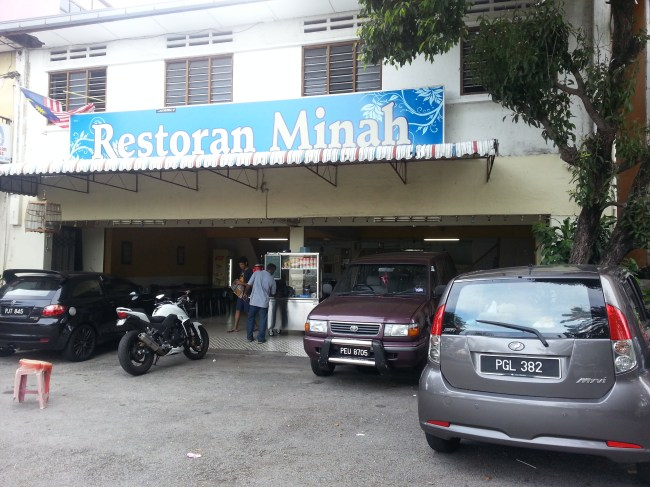 ENTRANCE TO RESTORAN MINAH