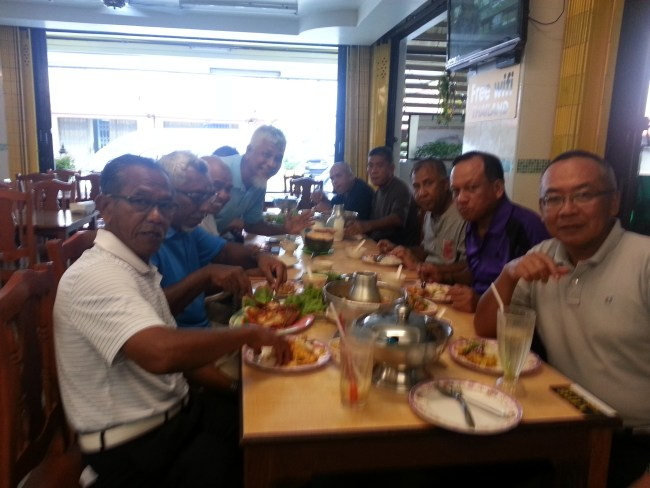 NIK AND FRIENDS LUNCH