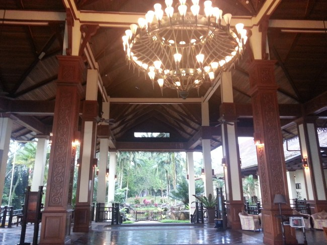 MAIN LOBBY WITH LARGE CHANDELIER