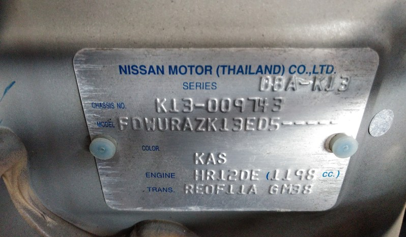 2011 Nissan March  -9743 full