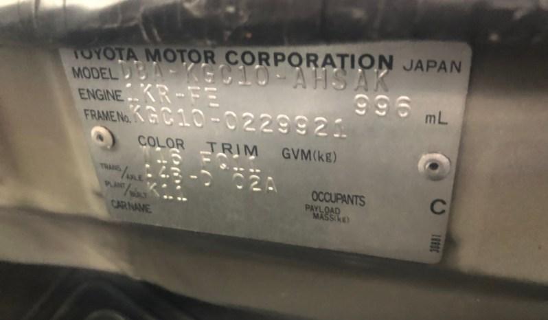 2008 Toyota Passo full