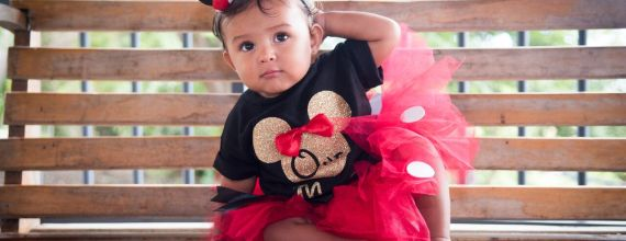 The perfect Minnie Mouse garb.