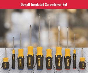 DeWalt 10 PC Screwdriver Kit