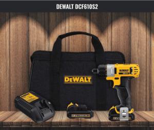 DeWalt Portable Screwdriver