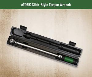 eTork Click Style Torque Wrench