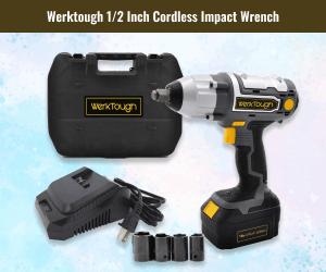 WerkTough Inch Cordless Impact Wrench