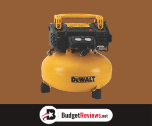 DEWALT Pancake Air Compressor 6 Gallon
