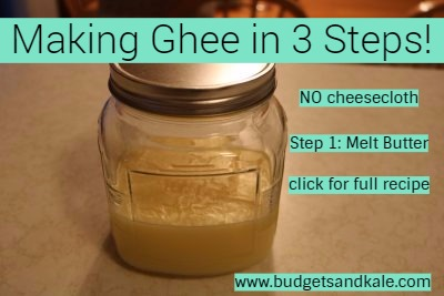Making Ghee The Easy Way in Only 3 Steps!