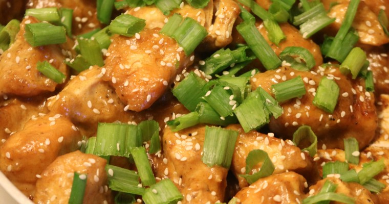 Whole30 Sesame Chicken
