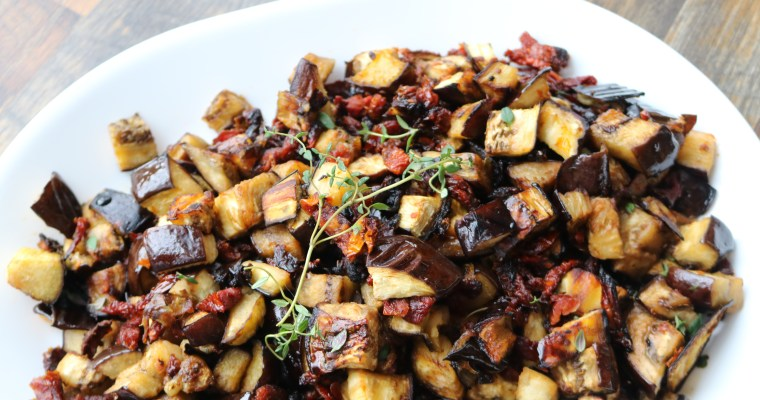 Rustic Balsamic Eggplant (Whole30)
