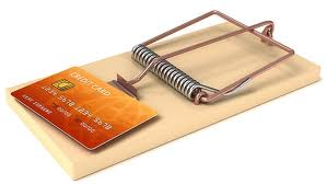 Don't fall for the bank trap of paying only the 'minimum payment' on your credit card balance!