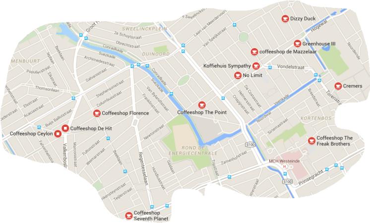 map den haag coffeeshop