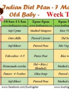 Second week indian diet plan for months old baby also budding star rh budingstar