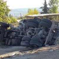 Мъжът от падналия камион от Аспарухов мост е загинал на място