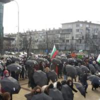 Протест под прозорците на Иван Портних