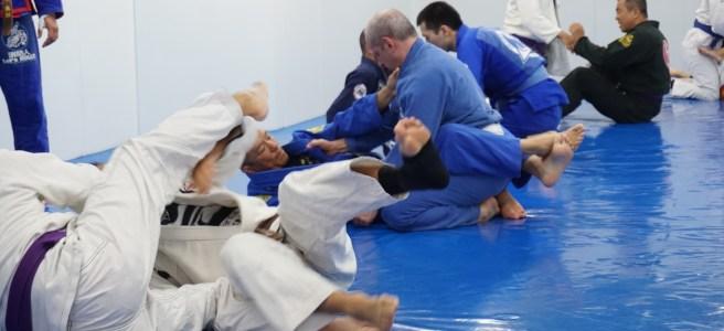 Training BJJ at Tri-Force Tokyo